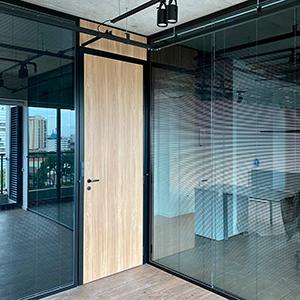 Divisória para escritório de alto padrão